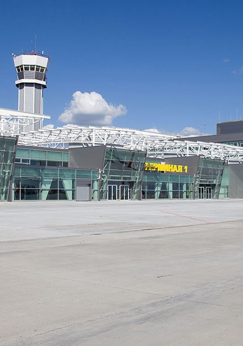 Kazan International Airport Terminal - 1